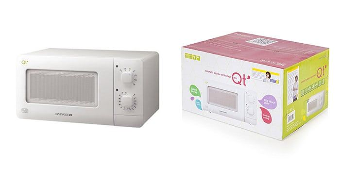 Daewoo QT1 Compact Microwave | in