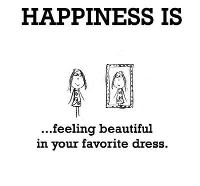Happiness Is Feeling Beautiful